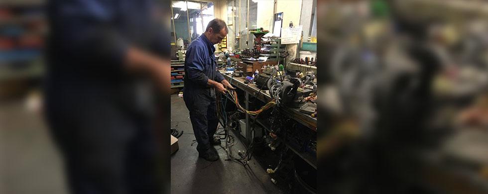 Réparations à l'atelier